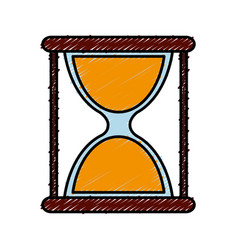 Hourglass icon image vector