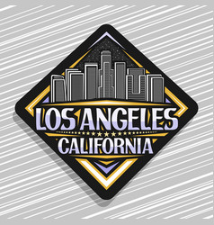 Logo for los angeles vector