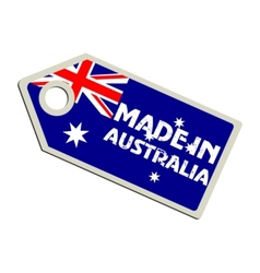 Made in Australia vector