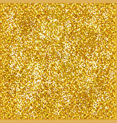 Shiny gold glitter background photo realistic vector