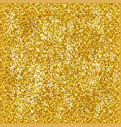shiny gold glitter background photo realistic vector image