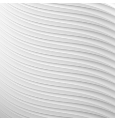 white paper 3d background with striped texture vector image