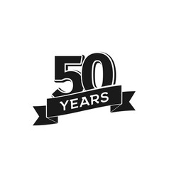 years anniversary logotype isolated vector image