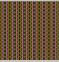 boho pattern with beautiful design 1 vector image vector image