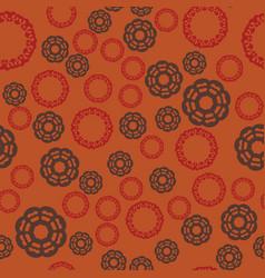 seamless tile vintage decorative elements vector image
