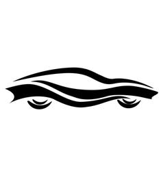 tattoo car vector image vector image