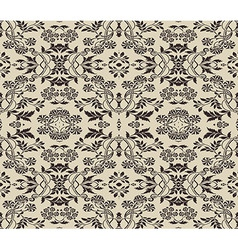 baroque background vector image vector image