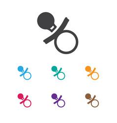 of child symbol on dummy icon vector image