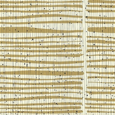 Vertical lines and dots on bold golden stripes vector image vector image