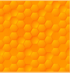 abstract honey hexagon seamless pattern eps vector image