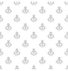 anchor pattern seamless vector image
