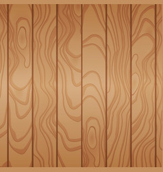 Cartoon wooden table background planks vector