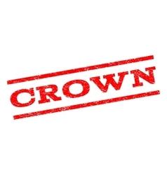 Crown Watermark Stamp vector