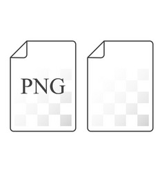 Document icon png special design two options for vector