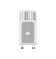 House floor conditioner icon flat style vector