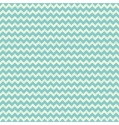 Seamless chevron pattern on linen turquoise canvas vector