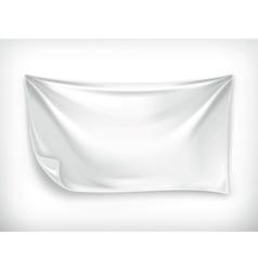 White banner vector