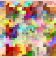 abstract colorful background of squares vector image