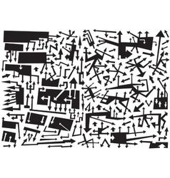 arrows - design elements vector image