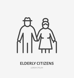 Family line icon pictogram grandparents vector