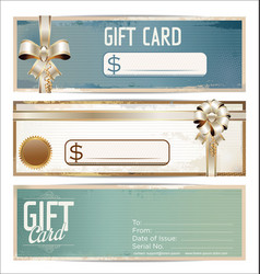gift card grunge collection vector image