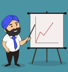 Indian presentation vector