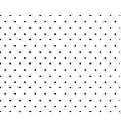 pattern black circles vector image