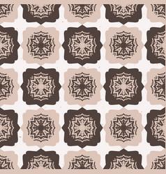 star quilt folk art texture seamless vector image
