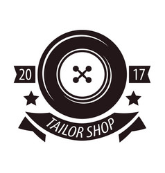 tailor shop or dressmaker atelier salon vector image