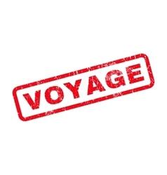 Voyage Rubber Stamp vector
