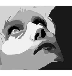 Portrait of a Women vector image