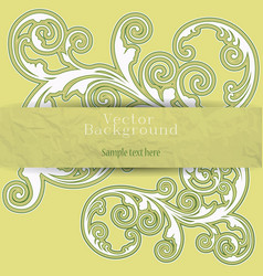 Background in style grunge vector image vector image