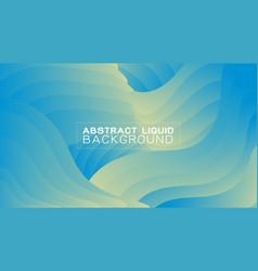 abstract gradient liquid concept background vector image