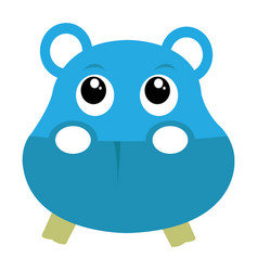 Avatar of hippopotamus vector