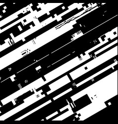 Glitch overlay background vector