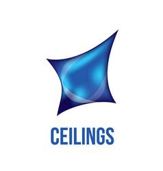 Logo of ceilings floors vector