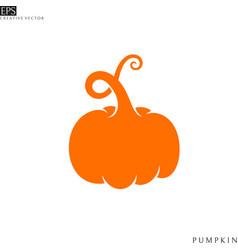 pumpkin paper cut style vector image
