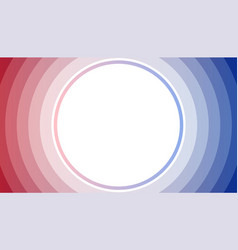 red blue stack circle abstract background vector image