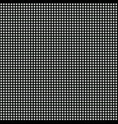Seamless cell pattern in black and white colors vector