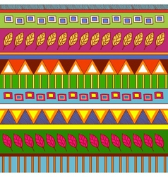 Tribal abstract pattern vector