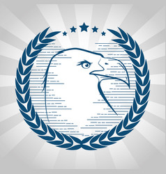 American eagle design vector