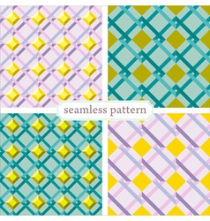 seamless pattern set3 vector image vector image