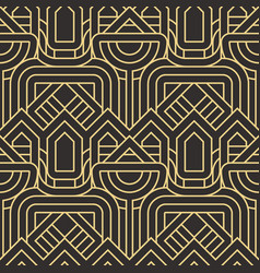 Abstract art deco seamless pattern 26 vector