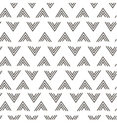 abstract geometric fashion design print triangle vector image
