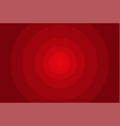 abstract red circular background vector image