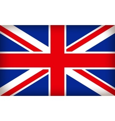 british union jack flag vector image