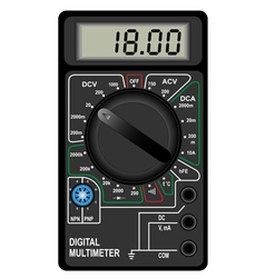 Digital multimeter vector