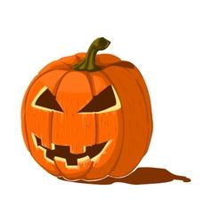 Isolated pumpkin lantern vector