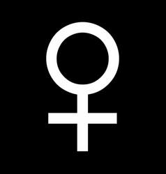 Venus sign vector