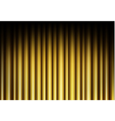 curtain of golden background vector image